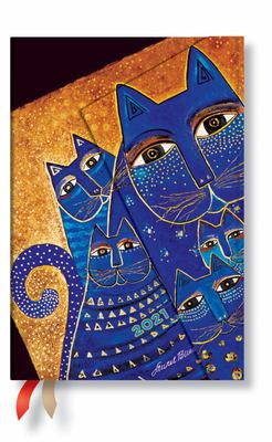 2021 Diary Mediterranean Cats Mini  - HOR Week-at-a-time