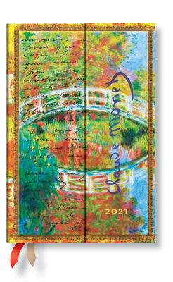 2021 Diary Monet (Bridge), Mini, VSO - De6812-9