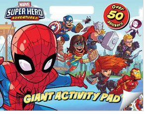 Superhero Squad Activity Pad