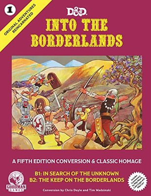 Original Adventures Reincarnated #1: Into the Borderlands HC
