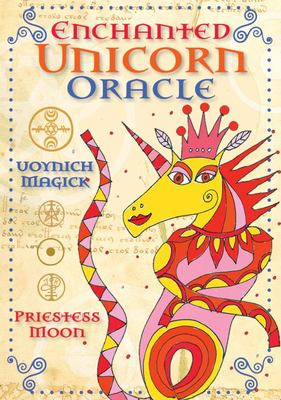 Enchanted Unicorn Oracle: Book and Card Deck