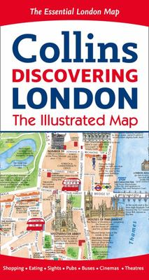 Discovering London Illustrated Map [New Edition]