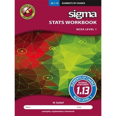 Maths Workbook AS 1.13 : Elements of Chance