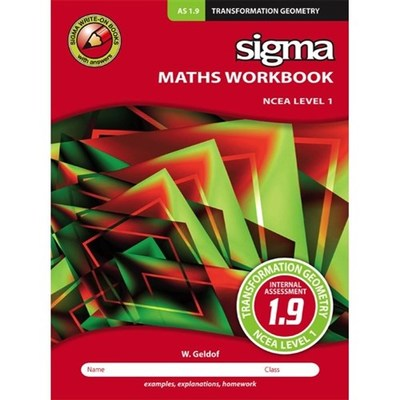 Maths Workbook AS 1.9 : Transformation Geometry
