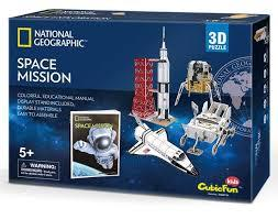 Space Mission 3D Puzzle & Book (National Geo Kids)