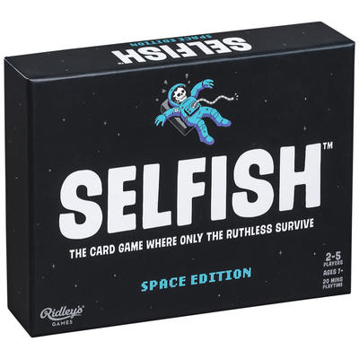 Selfish: The Card Game (Space Edition)