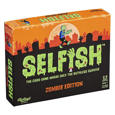 Selfish Zombie Edition Card Game