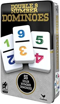 DOMINOES D9 NUMBERS TIN