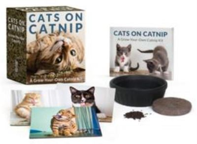 Cats on Catnip - A Grow-Your-Own Catnip Kit