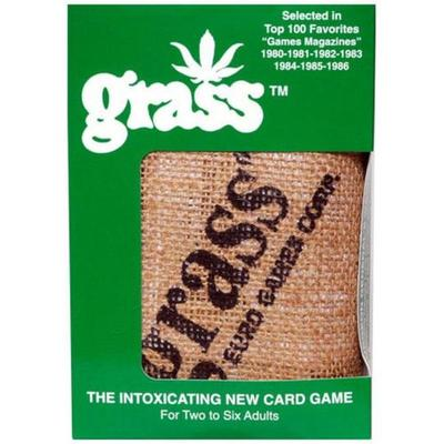Grass Card Game Hessian Bag