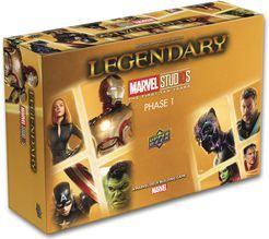 Legendary deck building game Phase 1 Marvel Studios