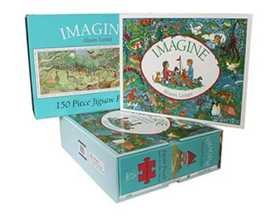 Imagine (Book and Jigsaw Puzzle)