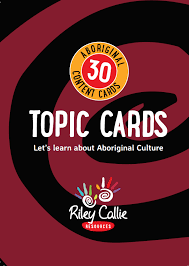 Aboriginal Topic Cards
