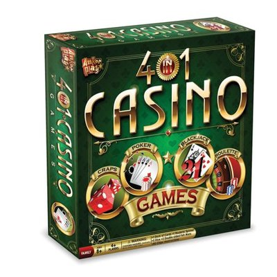 4 in 1 Game Set Casino