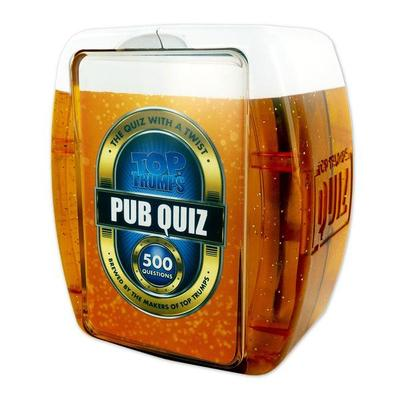 TOP TRUMPS PUB QUIZ 500 QUESTIONS