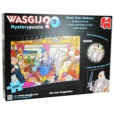 WASGIJ? 9 Mystery Puzzle Great Train Robbery 1000 pce