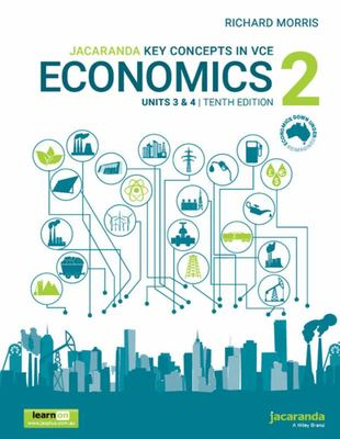 Key Concepts in VCE Economics 2 Units 3 And 4