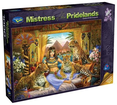 Mistress of Pridelands Queen of the Leopards 1000pce puzzle