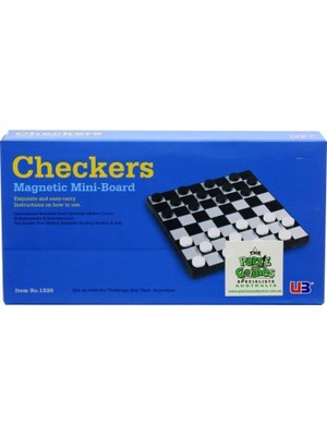 1520 Checkers (Magnetic Mini-Board)