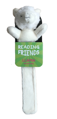 Llama Plush Bookmark (RF002) Reading Friends