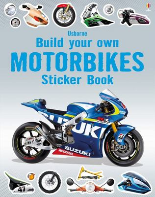 Motorbikes (Usborne Build Your Own Sticker Book)