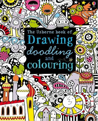 Drawing, Doodling and Colouring Book (Usborne)