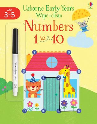 Numbers 1 To 10 3-4 (Early Years Wipe-Clean)