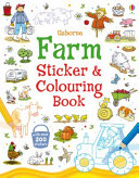 Farm (Sticker and Colouring Book)