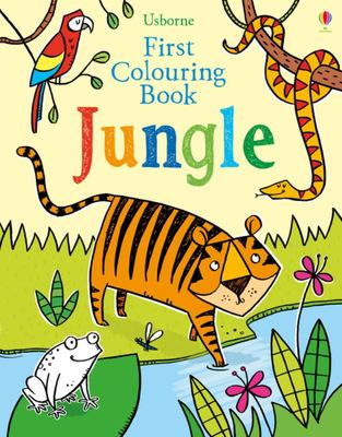 Jungle (Usborne First Colouring Book)