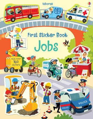 Jobs (Usborne First Sticker Book)