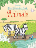 Animals (First Colouring Book)