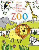 First Colouring Book Zoo