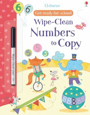 Get Ready for School Wipe Clean Numbers to Copy