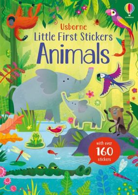 Little First Stickers Animals