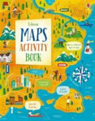 Usborne Maps Activity Book