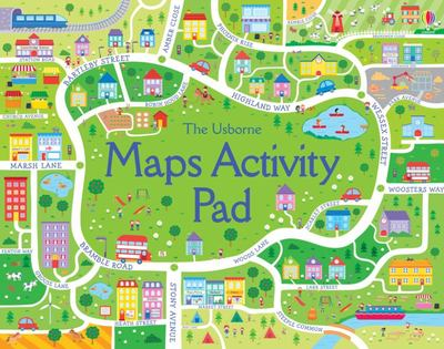 The Usborne Maps Activity Pad