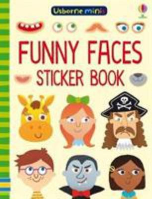 Mini Books Funny Faces Sticker Book