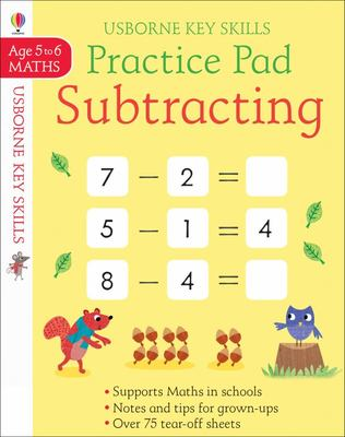 Practice Pad Subtracting 5-6