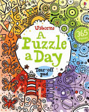 A Puzzle a Day (Tear-off Pad)- Usborne