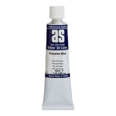 A.S. OIL 40ML S1 PRUSSIAN BLUE