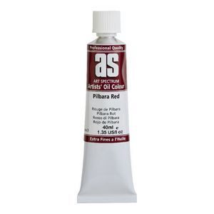 A.S. OIL 40ML S3 PILBARA RED