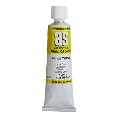 A.S. OIL 40ML S1 LEMON YELLOW