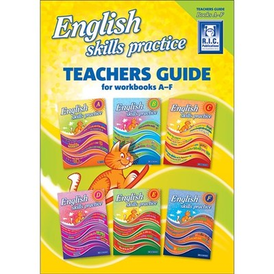 English Skills Practice: Teachers Guide for Books A - F Years 1-6 - RIC-6226