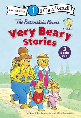 The Berenstain Bears Very Beary Stories - 3 Books In 1
