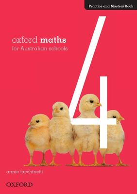 Oxford Maths Practice and Mastery Book Year 4