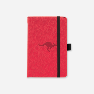 Dingbats* Wildlife Red Kangaroo Pocket A6+ Dotted