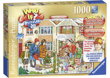 1000pc Ravensburger-What If No 20Christmas Lights Puzzle