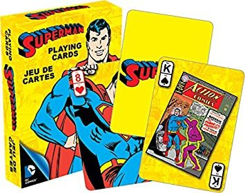 Playing Cards Retro Superman DC Comics (OPC52295)