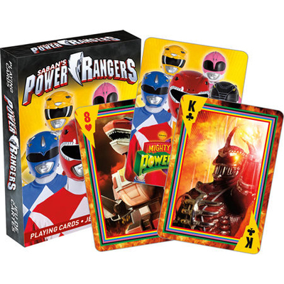 Power Rangers Playing Cards