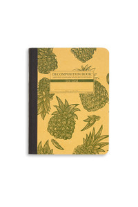 Decomposition Notebook Pineapples -  Dot Grid